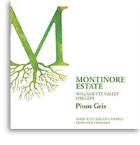 2011 Montinore Estate Pinot Gris Willamette Valley
