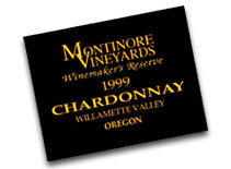 2007 Montinore Estate Chardonnay Winemakers Reserve