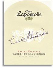 2005 Casa Lapostolle Cabernet Sauvignon Cuvee Alexandre Apalta Vineyard Colchagua Valley