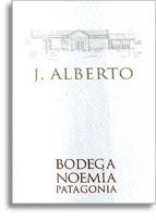 2011 Noemia De Patagonia J Alberto Malbec Rio Negro Valley