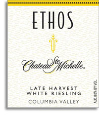 2011 Chateau Ste. Michelle Late Harvest White Riesling Ethos Reserve Columbia Valley