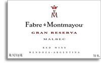 2011 Fabre Montmayou Malbec Gran Reserva Mendoza