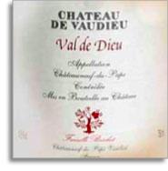 2007 Chateau De Vaudieu Chateauneuf Du Pape Val De Dieu