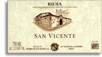 2006 Senorio De San Vicente Rioja San Vincente