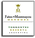 2013 Fabre Montmayou Torrontes Reserva Mendoza