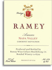 2010 Ramey Wine Cellars Cabernet Sauvignon Annum Napa Valley