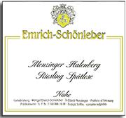 2013 Emrich Schonleber Monzinger Halenberg Riesling Spatlese