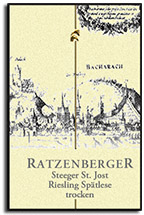 2011 Ratzenberger Steeger St Jost Riesling Spatlese Trocken