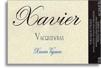 2011 Xavier Vignon Vacqueyras