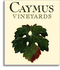 1982 Caymus Vineyards Cabernet Sauvignon Grace Family Vineyard Napa Valley
