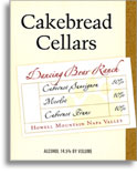 2005 Cakebread Cellars Cabernet Sauvignon Dancing Bear Ranch Howell Mountain
