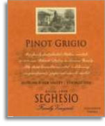 2013 Seghesio Family Vineyards Pinot Grigio Russian River Valley