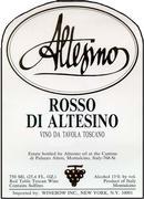 2012 Altesino Rosso Di Altesino