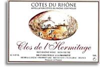 2007 Chateau De Segries Cotes Du Rhone De Lhermitage