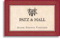 2012 Patz & Hall Wine Company Pinot Noir Alder Springs Vineyard Mendocino County