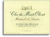 2009 Clos Du Mont Olivet Monteuil La Levade Cotes Du Rhone Vieilles Vignes