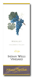 2011 Chateau Ste. Michelle Merlot Indian Wells Columbia Valley