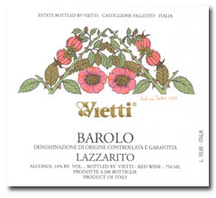 2007 Vietti Barolo Lazzarito