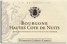 2010 Domaine Cornu-Camus Bourgogne Hautes Cote de Nuits