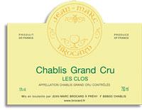 2007 Domaine Jean-Marc Brocard Chablis Les Clos