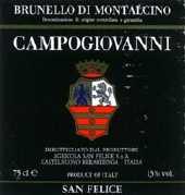 2006 Campogiovanni Brunello Di Montalcino