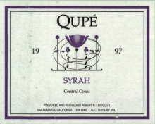 2011 Qupe Syrah Central Coast