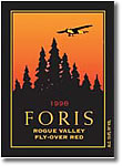 2008 Foris Vineyards Winery Fly Over Red Rogue Valley