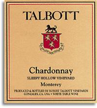 2010 Talbott Vineyards Chardonnay Sleepy Hollow Vineyard Santa Lucia Highlands