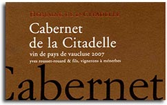 2010 Domaine De La Citadelle Cabernet Sauvignon Vdp Vaucluse
