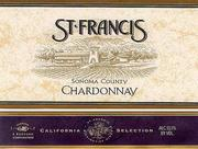 Vv St Francis Winery Vineyards Chardonnay Sonoma County