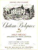 2011 Chateau Belgrave Haut Medoc
