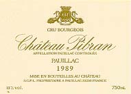 2010 Chateau Pibran Pauillac