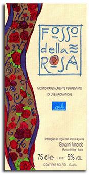 2012 Giovanni Almondo Brachetto Fosso Della Rosa