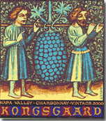 2002 Kongsgaard Wines Chardonnay Napa Valley