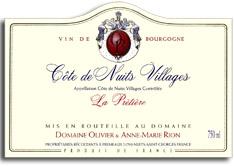 2009 Olivier Rion Cote De Nuits Villages La Pretiere