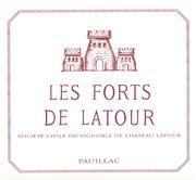 2012 Chateau Latour Les Forts De Latour Pauillac