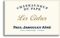 2008 Paul Jaboulet Aine Chateauneuf-du-Pape Blanc Les Cedres