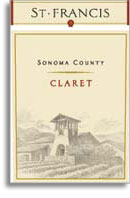 2009 St. Francis Winery & Vineyards Claret Sonoma County