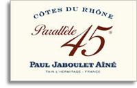 2011 Paul Jaboulet Aine Cotes Du Rhone Parallele 45 Rose
