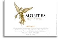 2010 Montes Malbec Classic Series Colchagua Valley