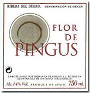 2010 Dominio De Pingus Flor De Pingus Ribera Del Duero