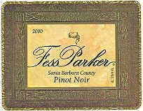 2010 Fess Parker Winery Pinot Noir Santa Barbara County