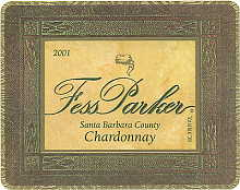 2007 Fess Parker Winery Chardonnay Santa Barbara