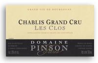 2010 Domaine Pinson Freres Chablis Les Clos
