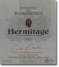 2010 Domaine Des Remizieres Hermitage Cuvee Emilie