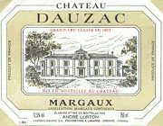 2000 Chateau Dauzac Margaux