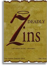 2006 7 Deadly Zins Zinfandel Old Vines Lodi