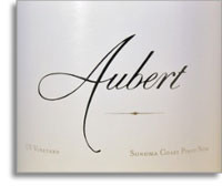 2004 Aubert Wines Pinot Noir Uv Vineyard Sonoma Coast