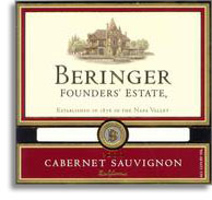 Vv Beringer Vineyards Cabernet Sauvignon Founders Estate