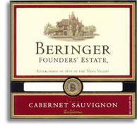 2011 Beringer Vineyards Cabernet Sauvignon Founders' Estate
